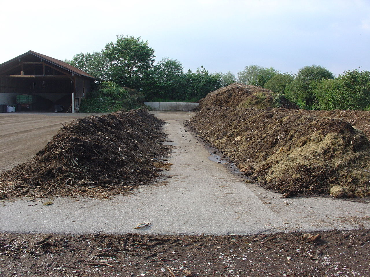 Compost site Germany